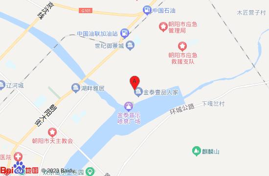 朝阳壹品汤泉地图