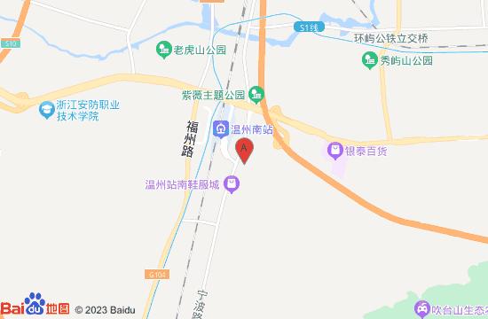 温州童游城地图