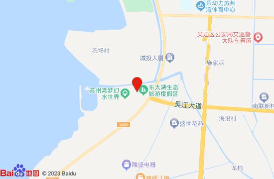 苏州湾梦幻水世界地图