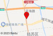 锦江之星(苏州火车站万达广场店)电子地图