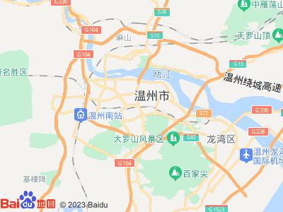 温州火车站周边地图