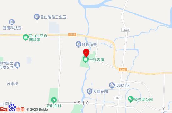 昆山千灯延福寺地图