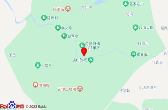 上虞雪花潭漂流地图