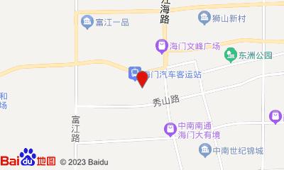 南通大地数字影院工人文化宫店周边地图