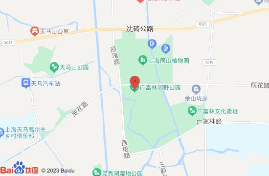 上海广富林郊野公园地图