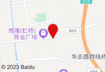 上海迪利特大酒店电子地图