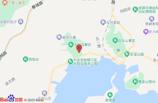 旅顺留声机博物馆地图