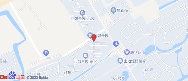 西郊景园小区地图