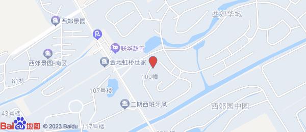 西郊华城小区地图