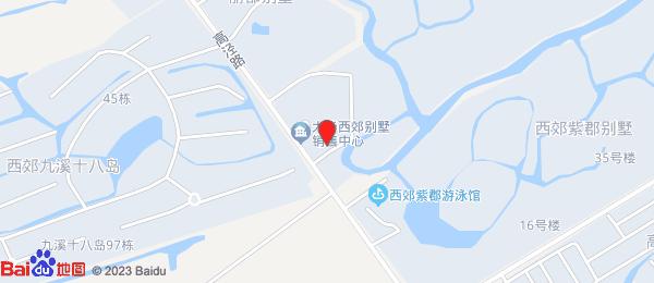大华西郊别墅小区地图