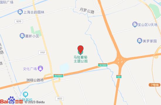 上海马陆葡萄主题公园地图