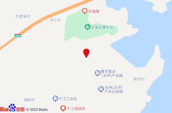 玉环干江垟坑荷塘主题乐园地图