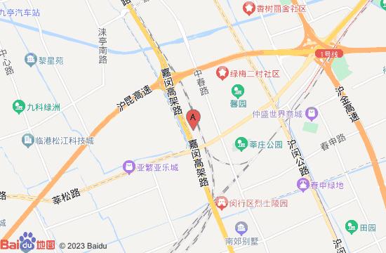上海涟泉大江户地图