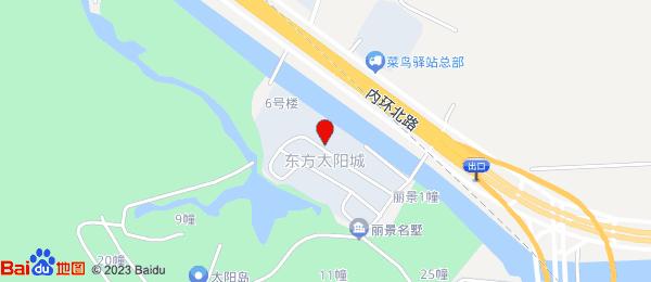 东方太阳城小区地图