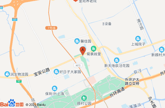 上海龙现代艺术中心地图