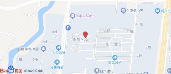 华景名苑小区地图