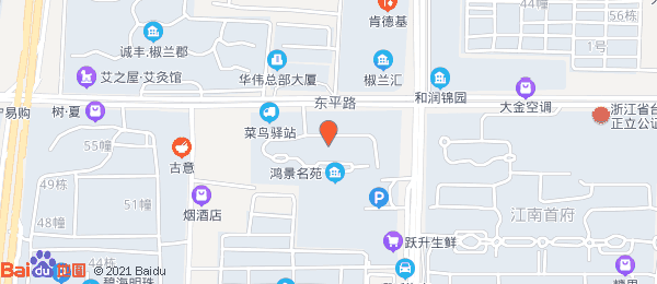 鸿景名苑小区地图