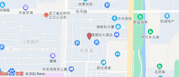 东京湾明月城小区地图