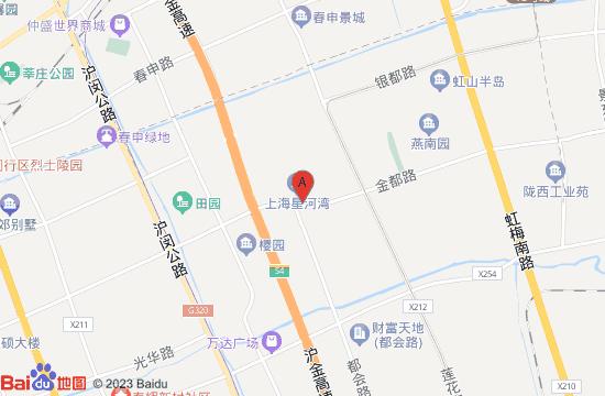 上海奈尔宝家庭中心地图