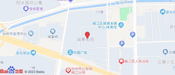 瑞景名苑小区地图
