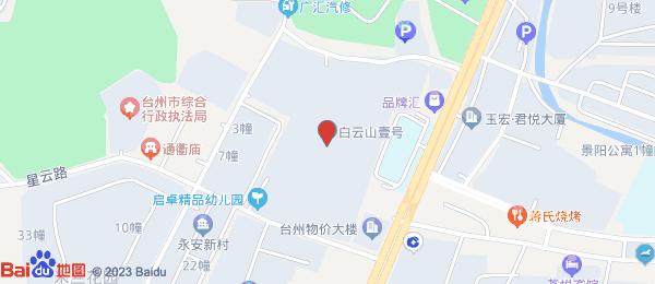白云山壹号小区地图