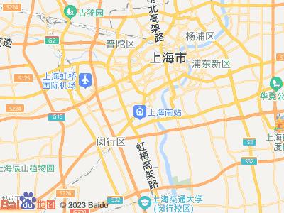 漕宝路 徐汇公寓 主卧 朝南 D室位置图片