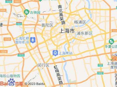 上海体育场 明达公寓 主卧 朝南 B室位置图片