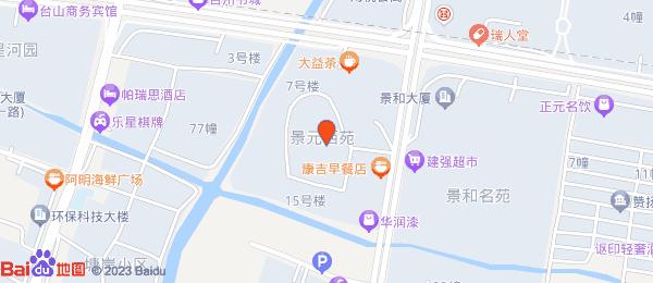 景元西苑小区地图