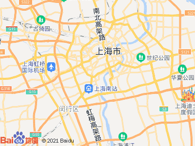 上海体育场 爱中爱华公寓 主卧 朝南 A室位置图片