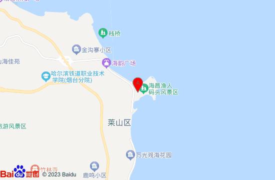 烟台海昌欢乐海岸游乐广场地图