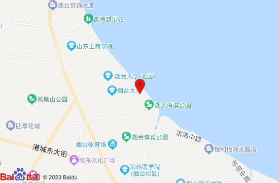 烟台耕海一号地图
