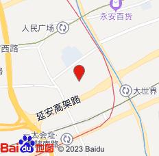 汉庭海友酒店(上海南京路步行街店)位置图