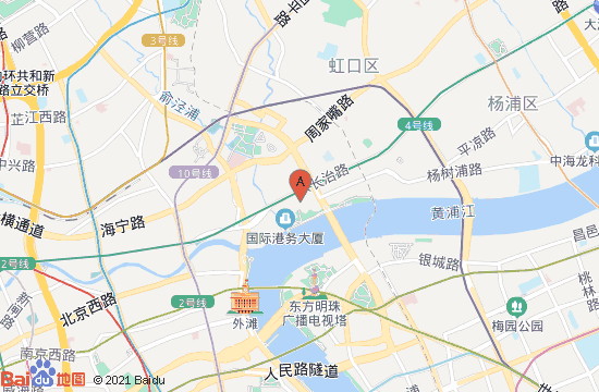 上海恐龙人俱乐部地图