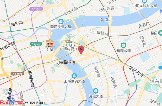上海观复博物馆地图