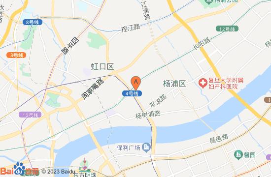 上海现代国之宝艺术馆地图