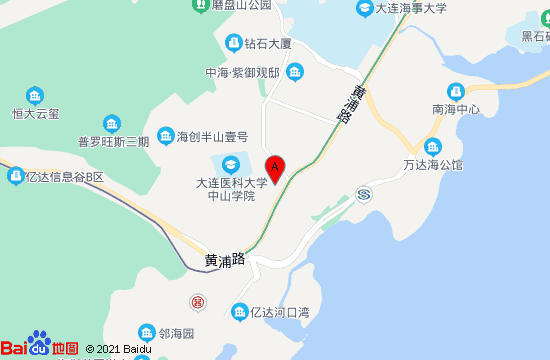 大连云水瑶温泉地图