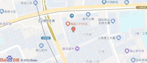 梅园新村小区地图