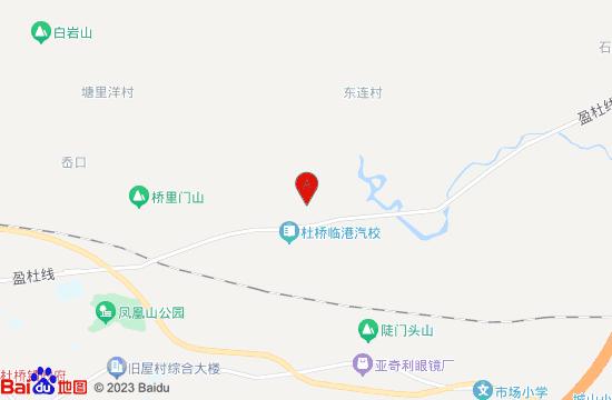 台州杜桥肯步水上乐园地图