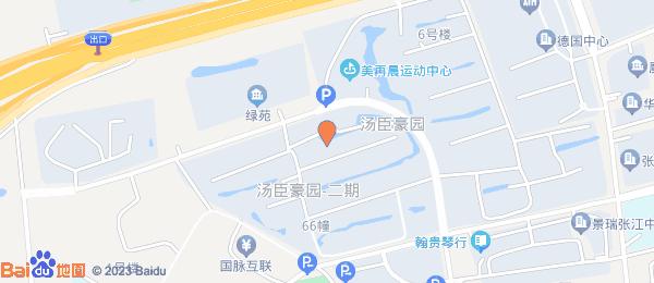 张江大厦小区地图