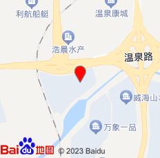 威海桂花宾馆(江家寨总店)位置图