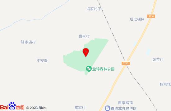 盘锦森林公园地图