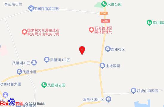 荣成赤山凤凰湖生态园地图