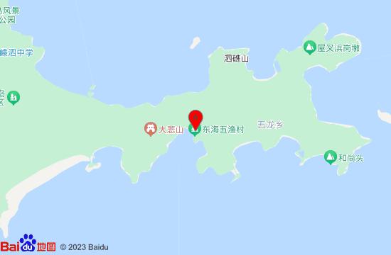嵊泗东海渔村地图