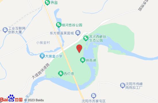沈阳浑河西峡谷蚂蚁王国地图