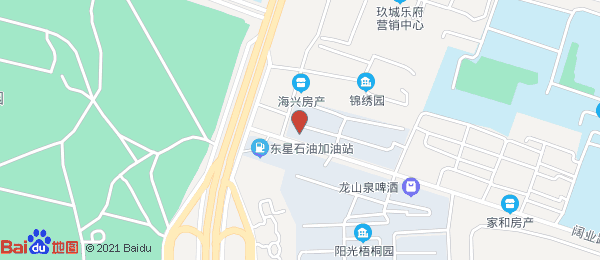 阳光梧桐园小区地图