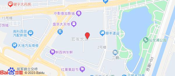 宏发长岛小区地图