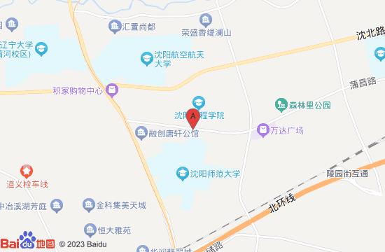 沈北超级公园运动主题工厂地图