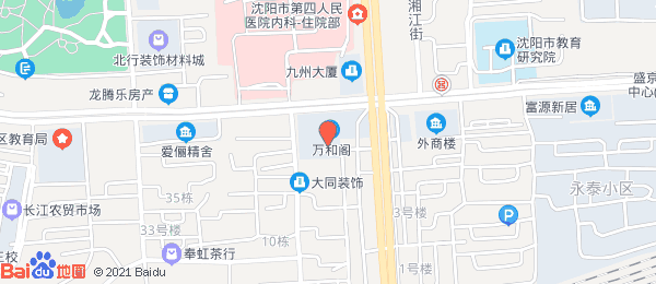 万和阁小区地图