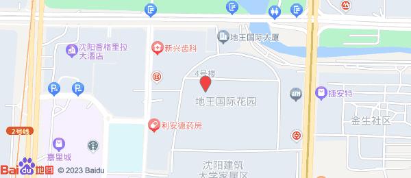 银基地王国际花园小区地图