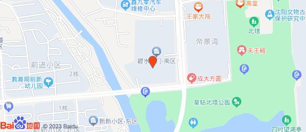 碧水名门一期小区地图